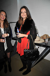 LADY NATASHA RUFUS-ISAACS at a party to launch pop-up store Oxygen Boutique, 33 Duke of York Square, London SW3 on 8th February 2011.