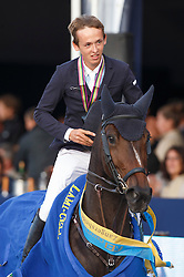 Allen Bertram (IRL) - Barnike<br /> Final 7 years<br /> FEI World Breeding Jumping Championships for Young Horses - Lanaken 2014<br /> © Dirk Caremans
