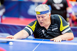 (AUT) KRAMMINGER Egon in action during 15th Slovenia Open - Thermana Lasko 2018 Table Tennis for the Disabled, on May 10, 2018 in Dvorana Tri Lilije, Lasko, Slovenia. Photo by Ziga Zupan / Sportida
