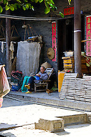 The ancient village of Yangmei is approximately 30 kilometres from the provincial capital of Nanning.