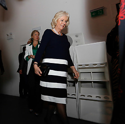 February 19, 2019 - London, United Kingdom - HRH Duchess of Cornwall Camilla arrives to BFC show space to present Elizabeth II Award for young talents in fashion during London Fashion Week February 2019 on February 19, 2019 in London, England. (Credit Image: © Dominika Zarzycka/NurPhoto via ZUMA Press)