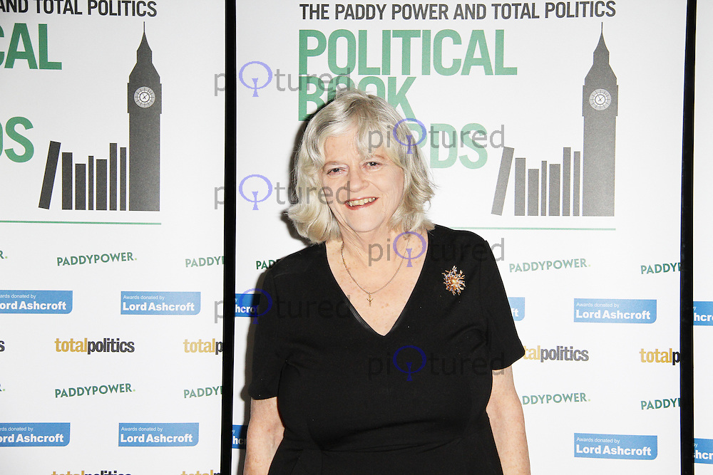 Ann Widdecombe, The Political Book Awards 2013, BFI IMAX Cinema Waterloo, London UK, 06 February 2013, (Photo by Richard Goldschmidt)