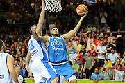 KOPER EUROBASKET 2013 8 SETTEMBRE 2013<br /> NAZIONALE ITALIANA MASCHILE<br /> ITALIA-GRECIA<br /> NELLA FOTO: PIETRO ARADORI<br /> FOTO CIAMILLO
