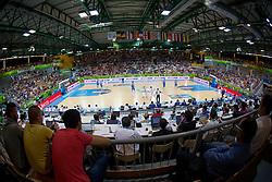 04.09.2013, Arena Bonifka, Koper, SLO, Eurobasket EM 2013, Russland vs Italien, im Bild View on the court // during Eurobasket EM 2013 match between Russia and Italy at Arena Bonifka in Koper, Slowenia on 2013/09/04. EXPA Pictures © 2013, PhotoCredit: EXPA/ Sportida/ Matic Klansek Velej<br /> <br /> ***** ATTENTION - OUT OF SLO *****