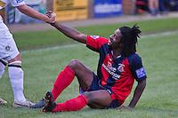 Eastbourne Borough Football Club Elliott Charles 1st game for Elliott Charles, Striker with The Sports.