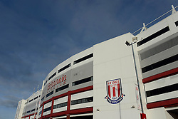 A general view of Stoke City's Stadium, Britannia Stadium - Photo mandatory by-line: Dougie Allward/JMP - Mobile: 07966 386802 - 06/12/2014 - SPORT - Football - Stoke - Britannia Stadium - Stoke City v Arsenal - Barclays Premie League
