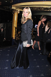 KATE MOSS at the Hoping Variety Show - A benefit evening for Palestinian Refugee Children held at The Cafe de Paris, Coventry Street, London on 21st November 2011.