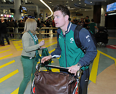 Auckland-Irish rugby team fly in for three match series against New Zealand