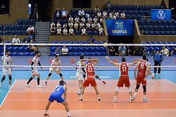 September 12, 2018 - Varna, Bulgaria - Iran vs Puerto Rico, pool D, during 2018 FIVB Volleyball Men's World Championship Italy-Bulgaria 2018, Varna, Bulgaria on September 12, 2018  (Credit Image: © Hristo Rusev/NurPhoto/ZUMA Press)