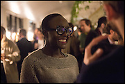 , Lynette Yiadom-Boakye Frieze party, ACE hotel Shoreditch. London. 18 October 2014