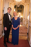 PRINCE ROSTISLAV ROMANOV; PRINCESS OLGA ROMANOV OF RUSSIA,  The 20th Russian Summer Ball, Lancaster House, Proceeds from the event will benefit The Romanov Fund for RussiaLondon. 20 June 2015