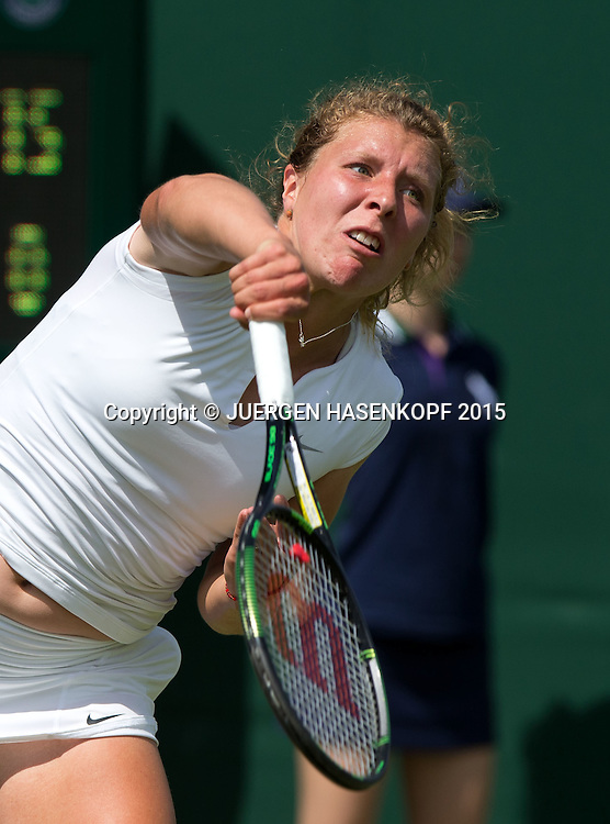 Anna-Lena Friedsam (GER)<br /> <br /> Tennis - Wimbledon 2015 - Grand Slam ITF / ATP / WTA -  AELTC - London -  - Great Britain  - 29 June 2015.