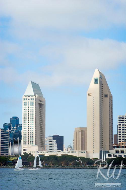 Downtown Skyline, San Diego, California