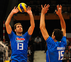 17.09.2011, Stadthalle, Wien, AUT, CEV, Europaeische Volleyball Meisterschaft 2011, Halbfinale, Italien vs Polen, im Bild Dragan Travica, (ITA, #13, Setter) // during the european Volleyball Championship Semi Final Italy vs Poland, at Stadthalle, Vienna, 2011-09-17, EXPA Pictures © 2011, PhotoCredit: EXPA/ M. Gruber