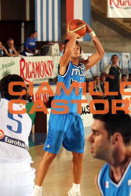 DESCRIZIONE : Bormio Trofeo Internazionale Diego Gianatti Grecia Italia <br />GIOCATORE : Belinelli<br />SQUADRA : Italia<br />EVENTO : Bormio Trofeo Internazionale Diego Gianatti Grecia Italia <br />GARA : Grecia Italia <br />DATA : 23/07/2006 <br />CATEGORIA : Tiro  <br />SPORT : Pallacanestro <br />AUTORE : Agenzia Ciamillo-Castoria/M.Marchi