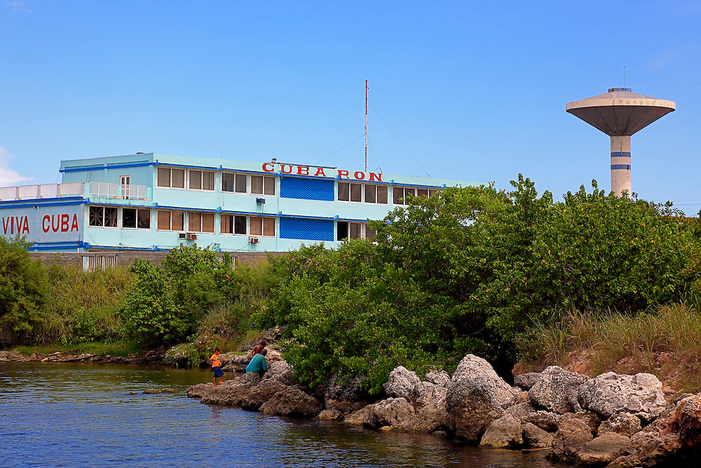 Havana Club rum factory in Santa Cruz del Norte, Mayabeque, Cuba.