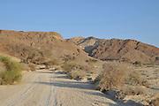 Israel, Aravah Desert Landscape