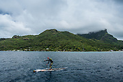 Matt Poole from OZ is a relatively newcomer to SUP, but still finished 10th overall in the SUP distance race on Day 4.