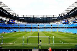 A general view of the Etihad Stadium  - Mandatory byline: Matt McNulty/JMP - 20/03/2016 - FOOTBALL - Etihad Stadium - Manchester, England - Manchester City v Manchester United - Barclays Premier League