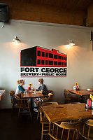 Fort George Brewery, Astoria, Oregon.