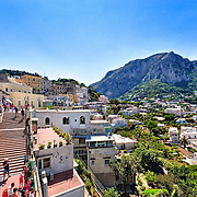 Capri, the city center