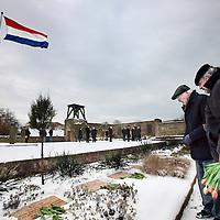 Nederland, Bloemendaal , 5 februari 2012..Herdenking van oude vrienden van het Parool op de Eerebegraafplaats in Bloemendaal..Foto:Jean-Pierre Jans