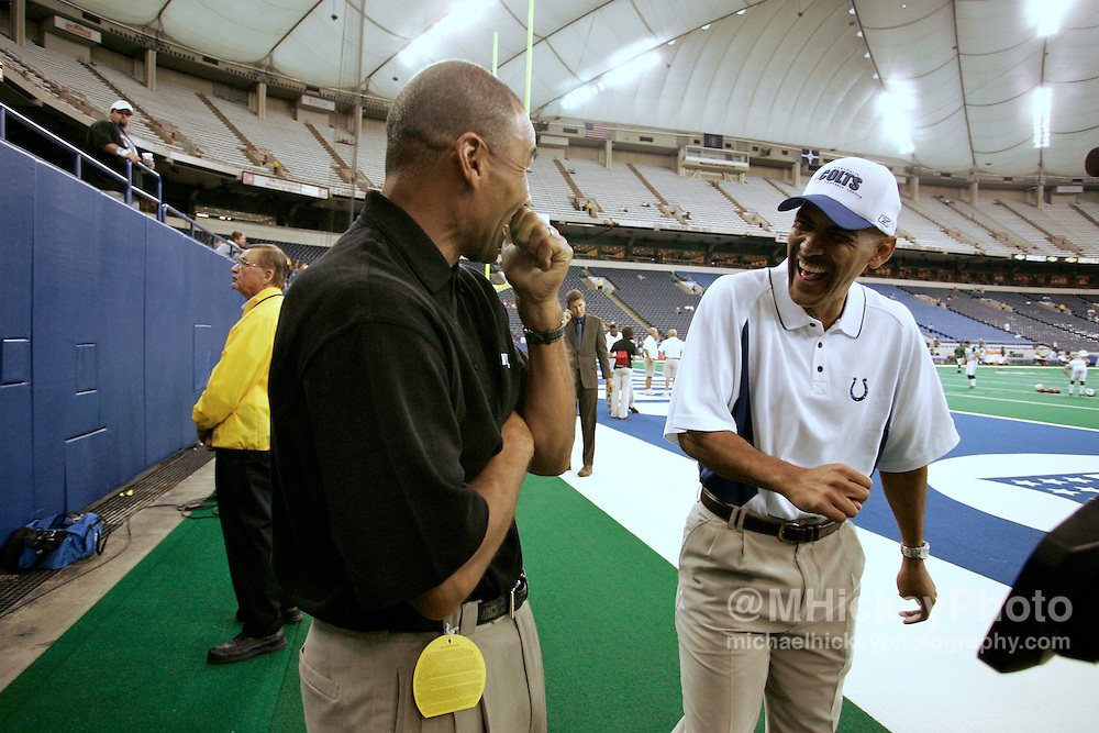 Herman Edwards and Tony Dungy