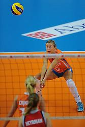 30-10-2011 VOLLEYBAL: NEDERLAND - BELGIE: ZWOLLE <br /> Nederland wint de tweede oefenwedstrijd met 3-2 van Belgie / Maret Grothues<br /> ©2011-WWW.FOTOHOOGENDOORN.NL