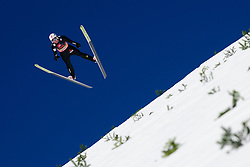 March 23, 2019 - Planica, Slovenia - Robin Pedersen of Norway in action during the team competition at Planica FIS Ski Jumping World Cup finals  on March 23, 2019 in Planica, Slovenia. (Credit Image: © Rok Rakun/Pacific Press via ZUMA Wire)