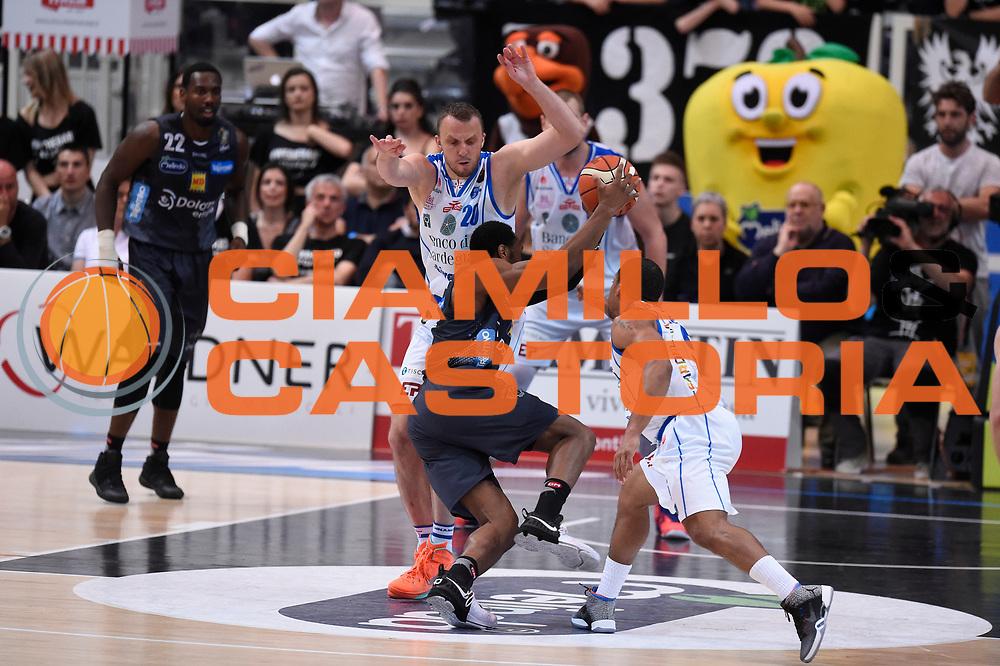 Sutton Dominique<br /> Quarti di Finale Gara 2<br /> Legabasket A 2016,2017<br /> Trento 14,05,2017<br /> Foto Ciamillo-Castoria,GiulioCiamillo