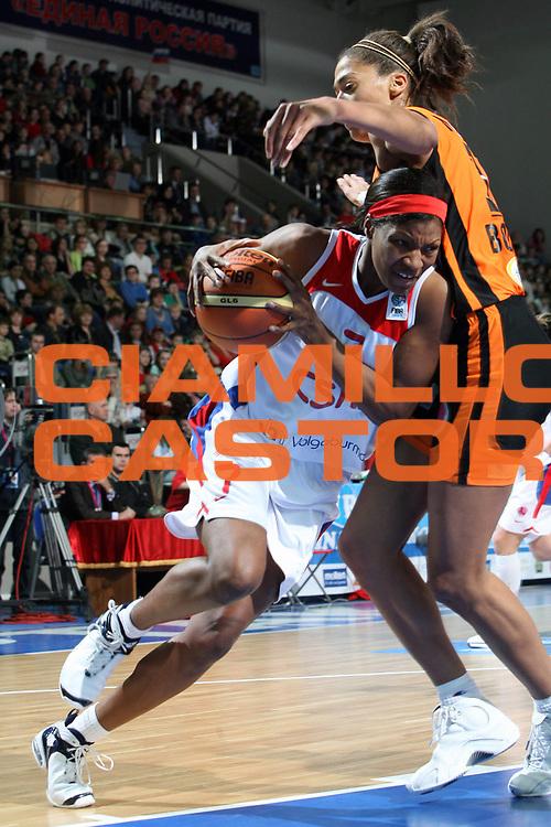DESCRIZIONE : Mosca Moscow Region Eurolega Donne Euroleague Women Final Four 2007 Final 3-4 Place CSKA Samara-Basket Bourges<br /> GIOCATORE : Walker<br /> SQUADRA : CSKA Samara<br /> EVENTO : Mosca Moscow Region Eurolega Donne Euroleague Women Final Four 2007 Final 3-4 Place CSKA Samara-Basket Bourges<br /> GARA : CSKA Samara Basket Bourges<br /> DATA : 01/04/2007 <br /> CATEGORIA : Penetrazione<br /> SPORT : Pallacanestro <br /> AUTORE : Agenzia Ciamillo-Castoria/E.Castoria<br /> Galleria : Euroleague Women Final Four 2007<br /> Fotonotizia : Mosca Moscow Region Eurolega Donne Euroleague Women Final Four 2007 Final 3-4 Place CSKA Samara-Basket Bourges<br /> Predefinita :