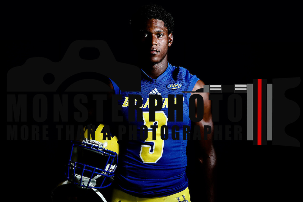 Photo of Delaware Quarterback Joe Walker (3) taken Sunday, August 14, 2016, at Delaware Field House Facility on the campus of the university of Delaware in Newark.
