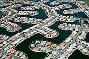 Subdivision built around artificial retention basins