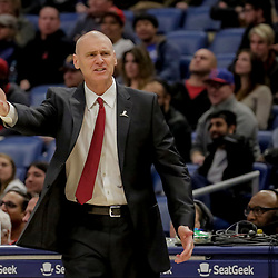 Dec 5, 2018; New Orleans, LA, USA; Dallas Mavericks head coach Rick Carlisle against the New Orleans Pelicans during the second quarter at the Smoothie King Center. Mandatory Credit: Derick E. Hingle-USA TODAY Sports