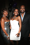 l to r: Jo Coleman, Kelly Coleman and Don Coleman at The Birthday Celebration for Kelli Coleman held at The Avenue on Decemeber 6, 2009 in New York City