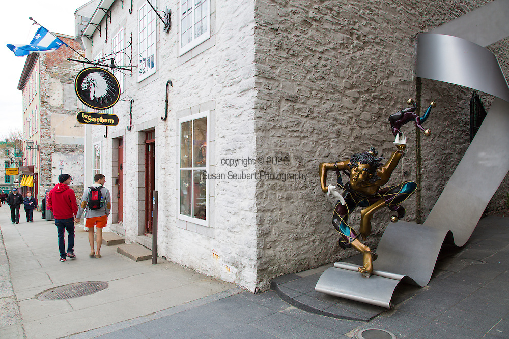 Le Sachem, a store that specializes in Native American Arts located in the Upper Town of Vieux Quebec, Quebec City, Quebec, Canada