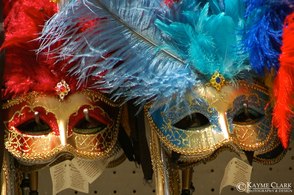 Venetian Masks - St. Mark's Square, Venice, Veneto, Italy, Europe