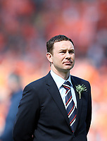 Football - Scottish FA Cup Final - Dundee United vs. Ross County<br /> <br /> <br /> Ross  County manager  Derek Adams