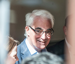 Former Chancellor Alistair Darling campaigning in Edinburgh in the run up to the 2017 General Election with local labour candidate Ian Murray, on the 20 year anniversary of Labour's historic 1997 landslide General Election victory.<br /> <br /> © Dave Johnston/ EEm
