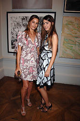 Left to right, YASMIN LE BON and her daughter AMBER LE BON at the Royal Academy of Arts Summer Exhibition Party at the Royal Academy, Piccadilly, London on 6th June 2007.<br /><br />NON EXCLUSIVE - WORLD RIGHTS