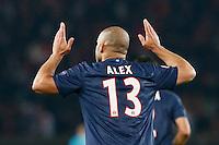 FOOTBALL - CHAMPIONS LEAGUE 2012/2013 PSG VS ZAGREB - 06/11/2012 - ALEX (PARIS SAINT-GERMAIN)