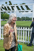 JILLY COOPER, Cartier Queen's Cup. Guards Polo Club, Windsor Great Park. 17 June 2012