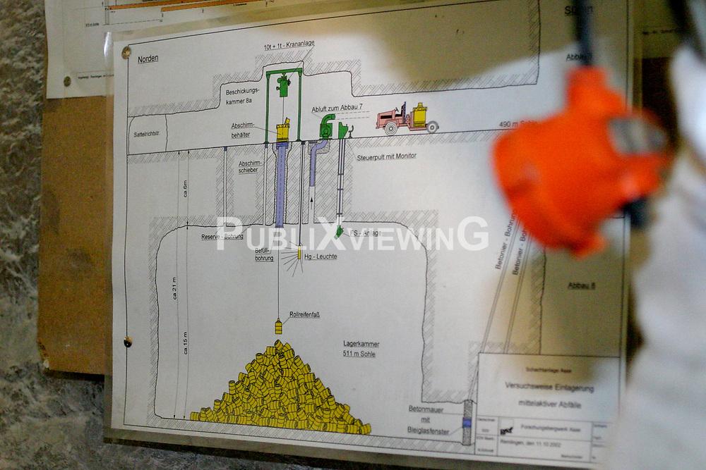 Bergwerk und marodes Atomm&uuml;lllager ASSE II bei Wolfenb&uuml;ttel. <br /> <br /> Ort: ASSE<br /> Copyright: Volker M&ouml;ll<br /> Quelle: PubliXviewinG