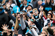 December 23, 2018. Panthers vs Falcons. Panthers fans