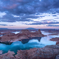 Beautiful blue hour from Alstrom Point.