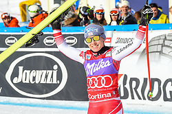 19.01.2019, Olympia delle Tofane, Cortina d Ampezzo, ITA, FIS Weltcup Ski Alpin, Abfahrt, Damen, Siegerehrung, im Bild Nicole Schmidhofer (AUT, zweiter Platz ) // second place Nicole Schmidhofer of Austria during the winner Ceremony of the ladie's Downhill of FIS ski alpine world cup at the Olympia delle Tofane in Cortina d Ampezzo, Italy on 2019/01/19. EXPA Pictures © 2019, PhotoCredit: EXPA/ Erich Spiess