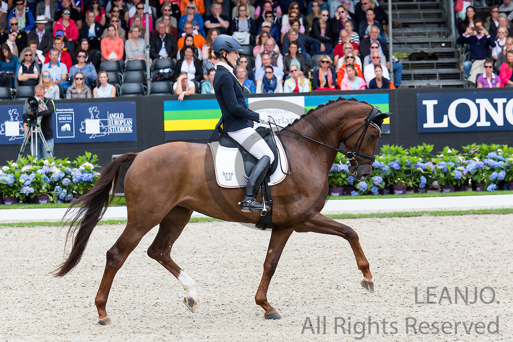 Beatrice Buchwald - Victoria's Secret<br /> Longines FEI/WBFSH World Breeding Dressage Championships for Young Horses 2016<br /> &copy; DigiShots