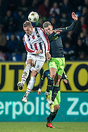 Onderwerp/Subject: Willem II - Ajax - Eredivisie<br /> Reklame:  <br /> Club/Team/Country: <br /> Seizoen/Season: 2012/2013<br /> FOTO/PHOTO: Aurelien JOACHIM (L) of Willem II in duel with Toby ALDERWEIRELD ( Tobias ALDERWEIRELD ) (R) of Ajax. (Photo by PICS UNITED)<br /> <br /> Trefwoorden/Keywords: <br /> #04 $94 ±1342782825903<br /> Photo- & Copyrights © PICS UNITED <br /> P.O. Box 7164 - 5605 BE  EINDHOVEN (THE NETHERLANDS) <br /> Phone +31 (0)40 296 28 00 <br /> Fax +31 (0) 40 248 47 43 <br /> http://www.pics-united.com <br /> e-mail : sales@pics-united.com (If you would like to raise any issues regarding any aspects of products / service of PICS UNITED) or <br /> e-mail : sales@pics-united.com   <br /> <br /> ATTENTIE: <br /> Publicatie ook bij aanbieding door derden is slechts toegestaan na verkregen toestemming van Pics United. <br /> VOLLEDIGE NAAMSVERMELDING IS VERPLICHT! (© PICS UNITED/Naam Fotograaf, zie veld 4 van de bestandsinfo 'credits') <br /> ATTENTION:  <br /> © Pics United. Reproduction/publication of this photo by any parties is only permitted after authorisation is sought and obtained from  PICS UNITED- THE NETHERLANDS