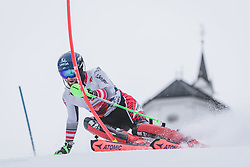 03.01.2020, Hochstein, Lienz, AUT, OeSV, Training Slalom, im Bild Marco Schwarz (AUT) // Marco Schwarz of Austria during a Slalom training session in preparation for the upcoming FIS Alpine Skiing World Cup Zagreb at the Hochstein in Lienz, Austria on 2020/01/03. EXPA Pictures © 2019, PhotoCredit: EXPA/ Johann Groder