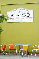 Astoria Coffee House and Bistro. Astoria, Oregon.